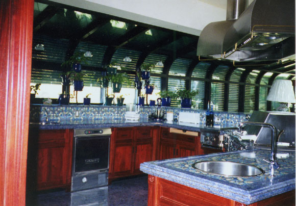 Granite Countertops Colors Blue Persia